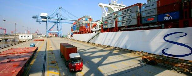 trasporto e logistica cina