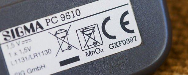 etichette importazione, Cina